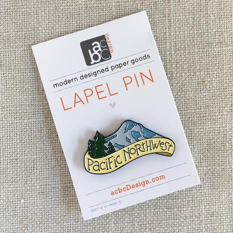 acbcDesign-Pacific Northwest Pin