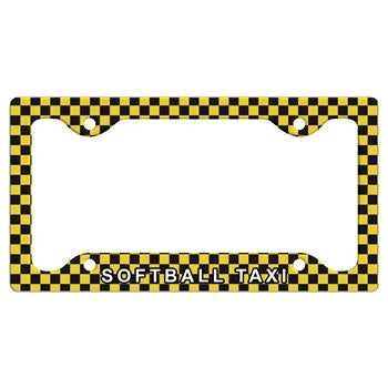 ChalkTalk SPORTS - License Plate Holder SB Taxi
