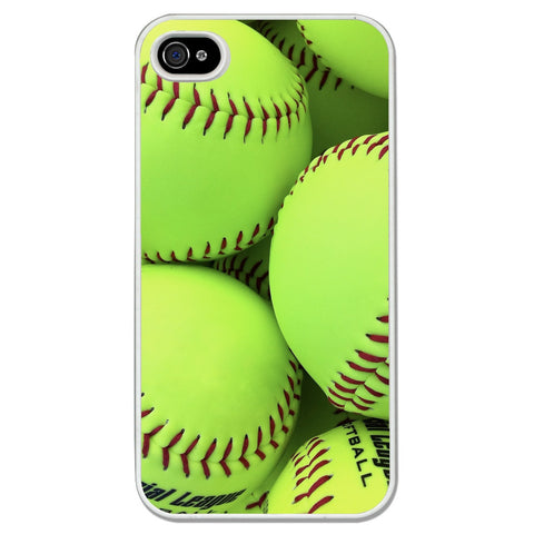 ChalkTalkSports - Softball iPhone Case