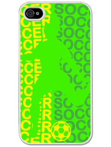 ChalkTalk SPORTS - All Soccer Girl iPhone Case