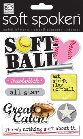 Me & My Big Ideas- Softball Stickers