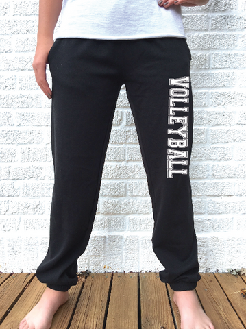 Throw Like a Girl - Volleyball Sweatpant
