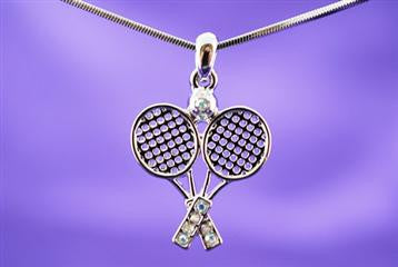 Violet Victoria TENNIS NECKLACE