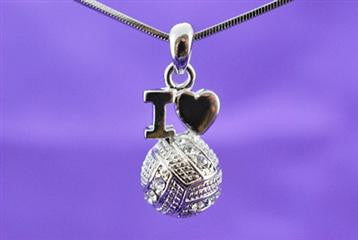 Violet Victoria -Volleyball Love Necklace
