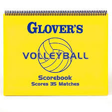 Volleyball Short Form Scorebook