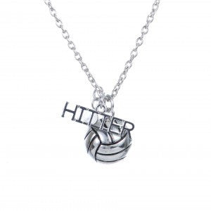 Gimmedat VB Hitter Silver Necklace