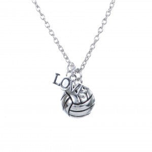 Gimmedat VB Love Silver Necklace