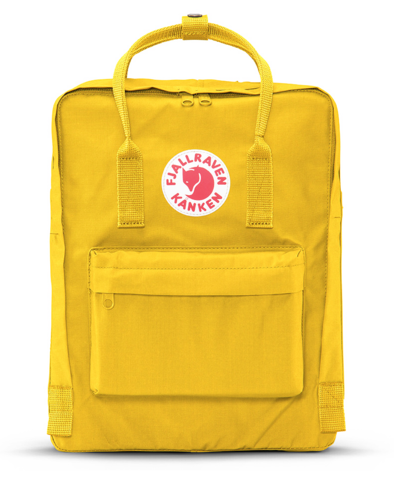 FJÄLL RÄVEN - Kanken Backpack-Yellow