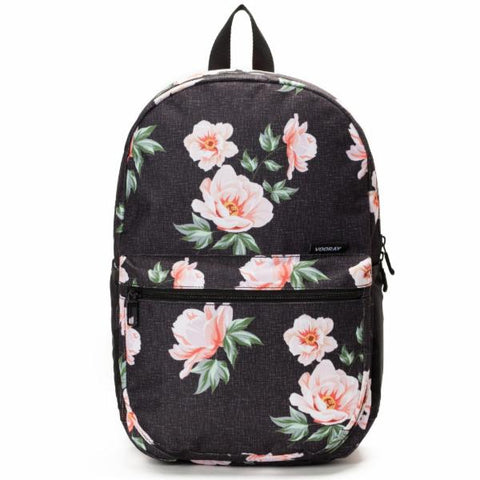Vooray Ace Backpack - Rose Black Print