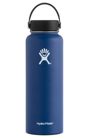 Hydro Flask - 40 oz Wide Mouth Cobalt Water Bottle