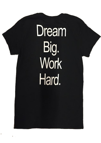 Aries Apparel - Dream Big, Work Hard T-shirt