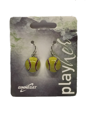 Gimmedat Enamel Dangle Earrings