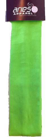 Glam - Bright Green Fabric Headband