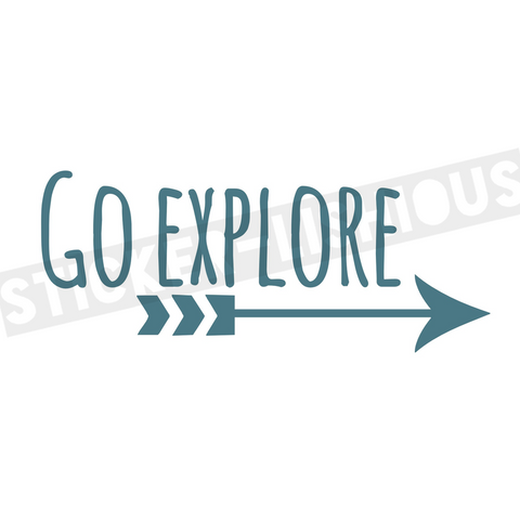 Sticker-Lishious-Go Explore