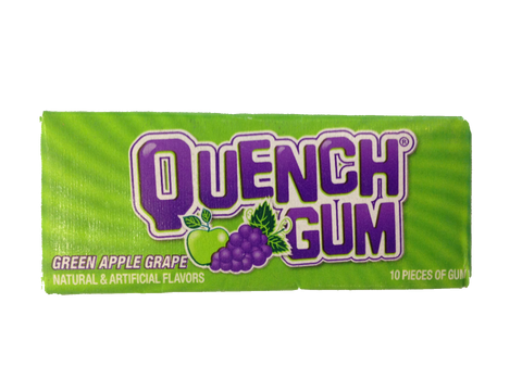 Mueller-Quench Green Apple Gum Pack