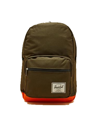Herschel - Pop Quiz Backpack-Forest/Orange