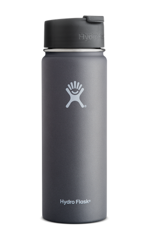 Hydro Flask - 20 oz Wide Mouth Graphite Water Bottle