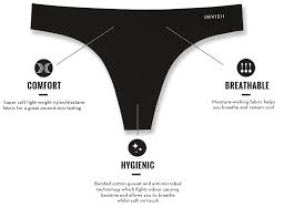 Invisii - Seamless Workout Thong Underwear