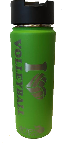 Hydro Flask - 20 oz Wide Mouth Heart VB Kiwi Water Bottle