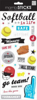 Me & My Big Ideas- Softball Game Day Stickers