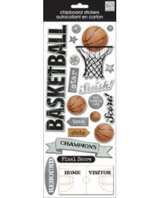 Me & My Big Ideas- Basketball Stickers
