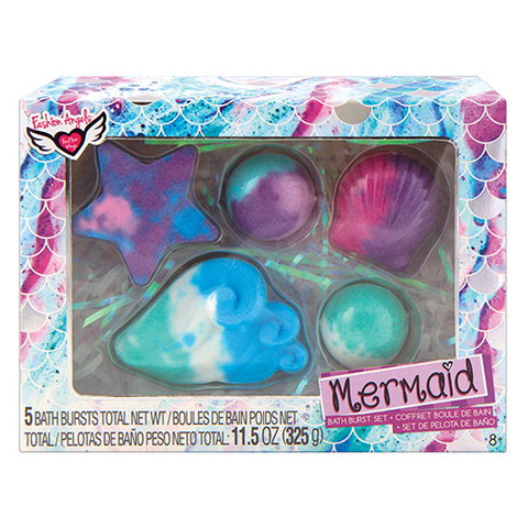 Fashion Angels-Mermaid Bath Burst Set