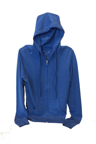 Miami Style Light Zip-Front Hoodie