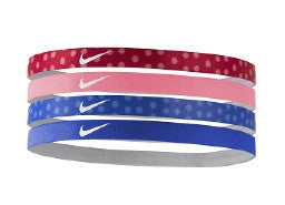 Nike Youth Assorted Headbands 4 Pack