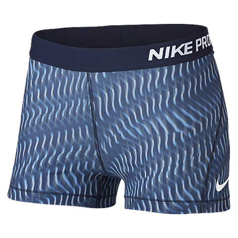 "Nike Pro 3"" Hex Printed Shorts"