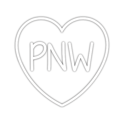 Stickers Northwest - PNW Heart Decal