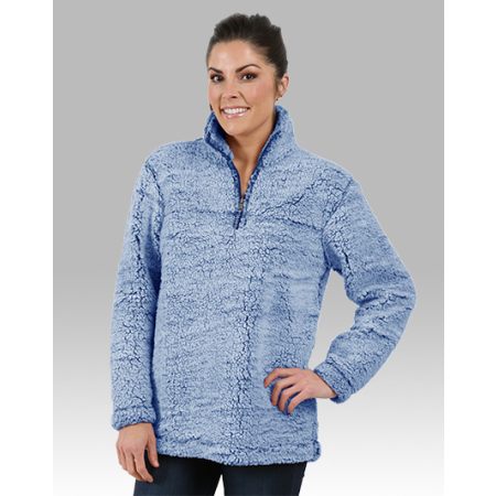 Aries Apparel - Sherpa 1/4 Zip Pullover