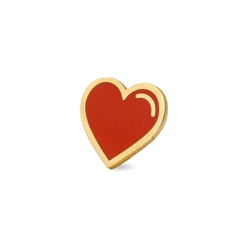These Are Things-Red Heart Pin