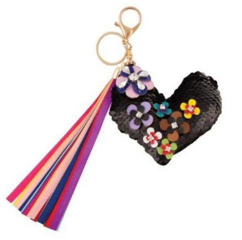Fashion Angels-Flower Heart Bag Charm
