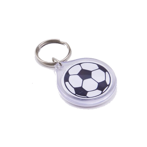 Go Run USA Soccer Key Chain
