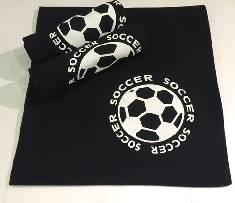 Aries Apparel Soccer Blanket