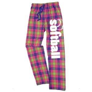Image Sport - Softball Flannel Pant-Popsicle