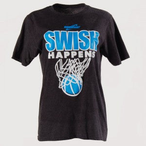 Gimmedat Swish Happens Basketball T-shirt