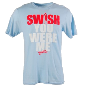 Gimmedat Swish You Were Me Basketball T-shirt