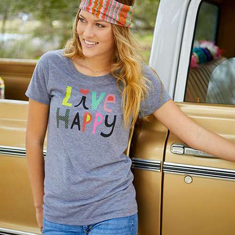 Natural Life - Live Happy Tee