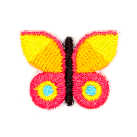 These Are Things-Stick-On Patch-Butterfly