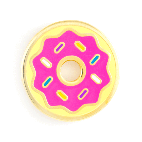 These Are Things-Donut Pin
