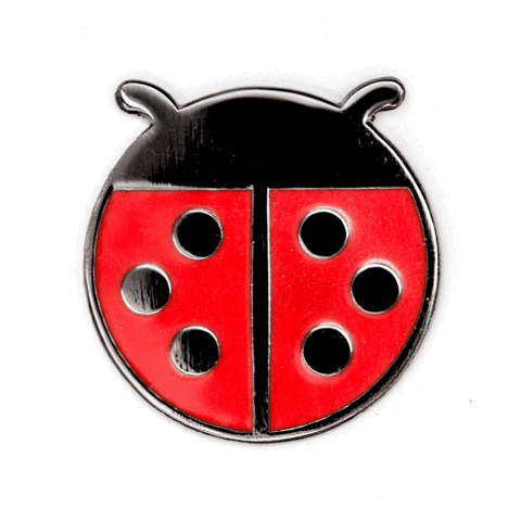 These Are Things-Ladybug Pin
