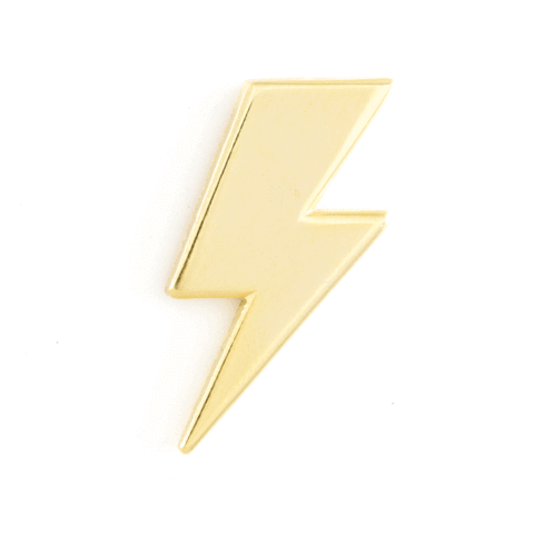 These Are Things-Lightening Bolt Pin