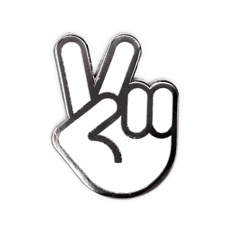 These Are Things-Peace Hand Pin