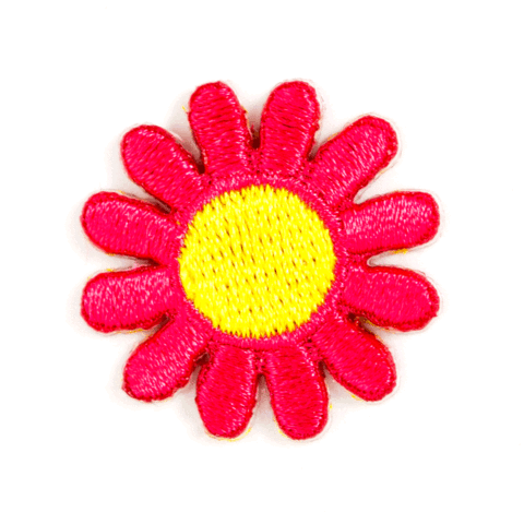 These Are Things-Pink Daisy Patch