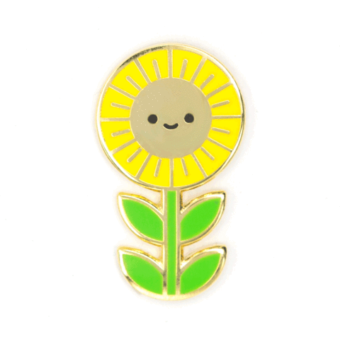 These Are Things-Sunflower Pin
