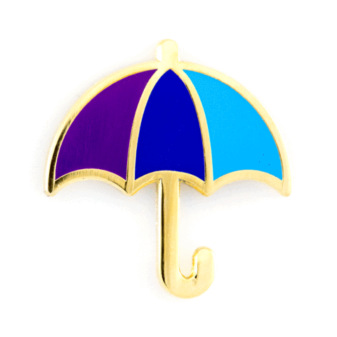 These Are Things-Umbrella Pin