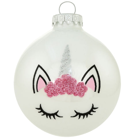 Bronners - Unicorn Face Ornament