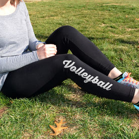 "Aries Apparel - ""Volleyball Script"" Leggings"