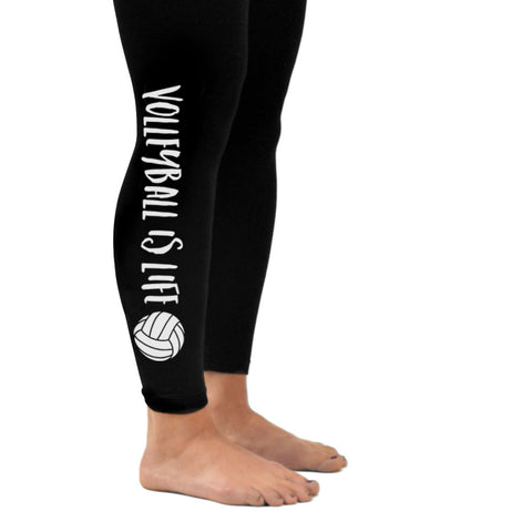 "Aries Apparel - ""Volleyball is Life"" Leggings"
